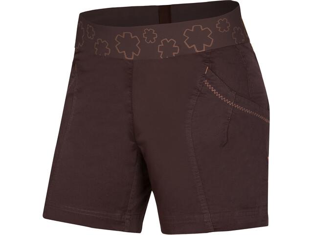 Ocun Pantera Shorts Mujer, chocolate